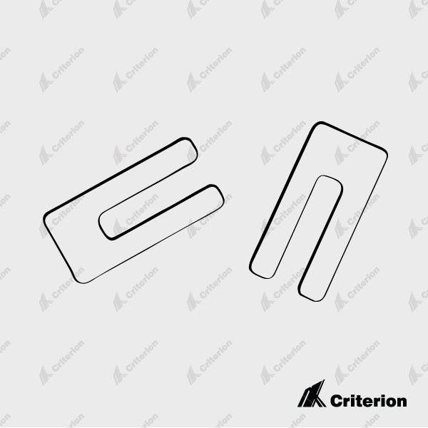 5.0 x 75mm Packer - Standard - Criterion Industries - office fitouts - australia