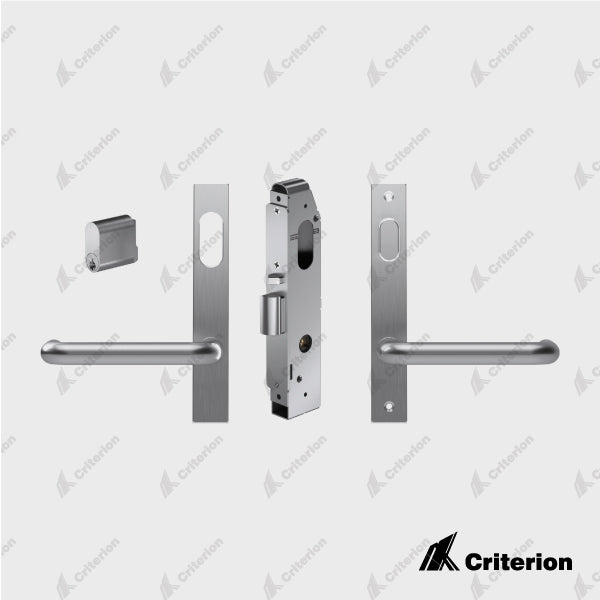 Narrow Backset Mortice Lock Kit