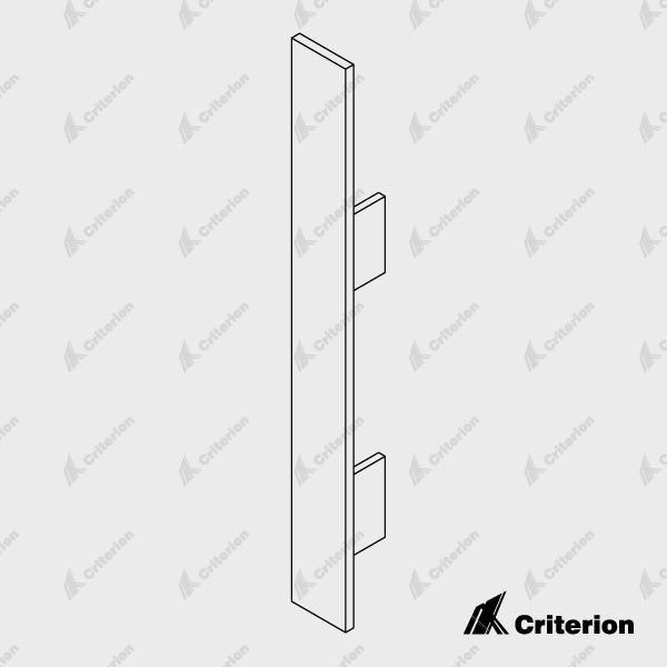 Plastic Skirting Cap - Standard - Criterion Industries - office fitouts - australia