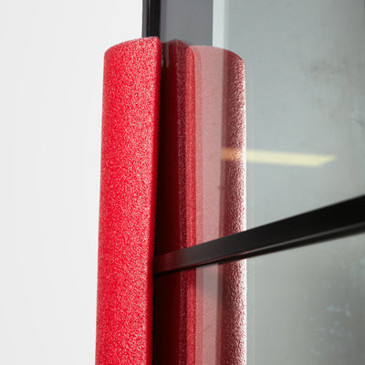 Armadillo Red Foam Protection - Standard - Criterion Industries - office fitouts - australia