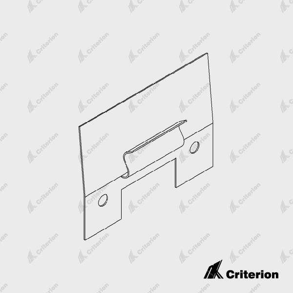 Shadowline Skirting Clips - Standard - Criterion Industries - office fitouts - australia