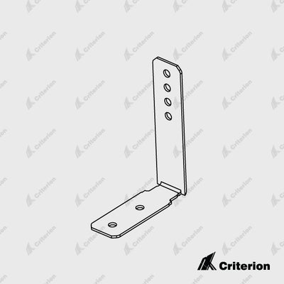 Svelte Corner Bracket - Standard - Criterion Industries - office fitouts - australia
