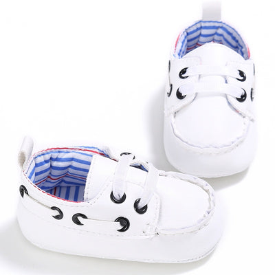 infantfeet Cute Newborn Baby Boy Prewalker Shoes First Walkers Casual Soft Soled Crib Sneakers Shoes 18 Months