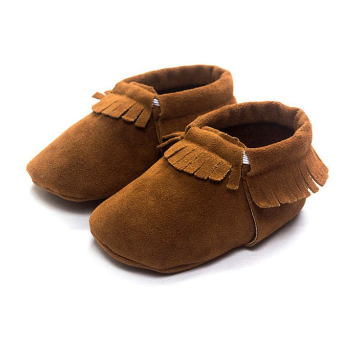 Fashion Infant Tollder Canvas Crib Shoes Baby Boy Girl Moccasins Soft Moccs Shoes First Walkers