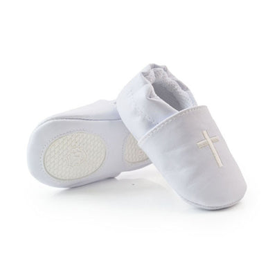 infantfeet New Baby Boy Girl Cross Baptism Christening Shoes Church Soft Sole Leather Shoes