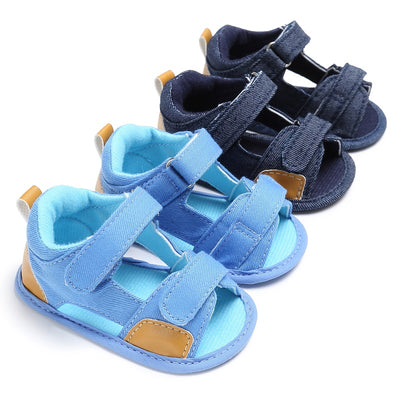 infantfeet Summer Kids Baby Boys Sandals Canvas Children Sandals For Boys Casual Toddler Shoes Breathable Sandals Fashion