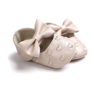 PU Leather Boy Girl Baby Moccasins Moccs Bebe Shoes Bow Fringe Soft Soled Non-slip Footwear Crib Shoes