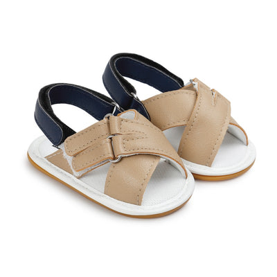 Summer Shoes Baby Baby Sandals Soft Leather Prewalker Soft Sole Genuine Leather Beach Sandals