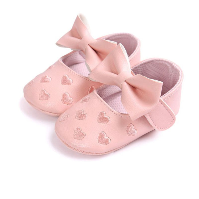 4d5e987230a PU Leather Boy Girl Baby Moccasins Moccs Bebe Shoes Bow Fringe Soft Soled  Non-slip Footwear Crib Shoes