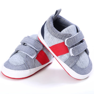 Baby Shoes Girls Boys First Walkers Casual Soft Soled Crib Sneakers Shoes 0 -18 Months