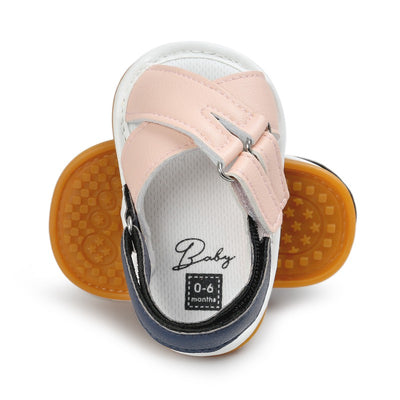 infantfeet Summer Shoes Baby Baby Sandals Soft Leather Prewalker Soft Sole Genuine Leather Beach Sandals