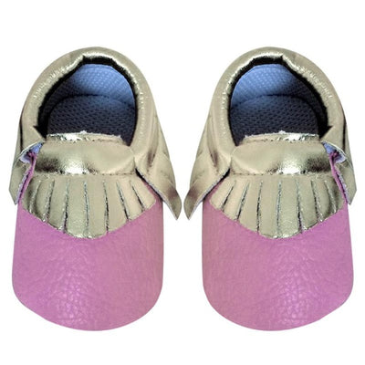 Newborn Baby Shoes Tassels  PU Leather Fringe Crib Shoes for Baby Girls Soft Soled Baby Moccasins Sneakers