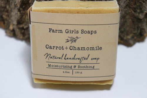 Carrot Chamomile Soap