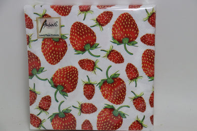 Strawberry Dinner Napkins