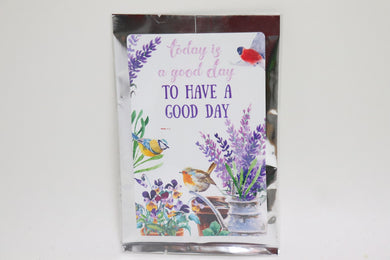 Today Is A Good Day Tea Greeting Card