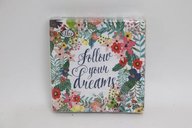 Follow Your Dreams Luncheon Napkins