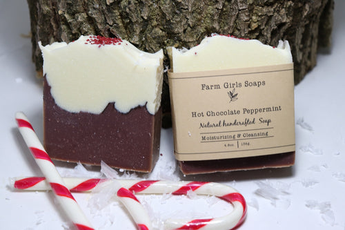 Hot Chocolate Peppermint Soap