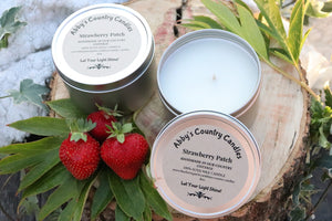 Strawberry Patch Candle - 8oz. Tin