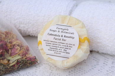 Calendula, Rosehip Facial & Body Bar