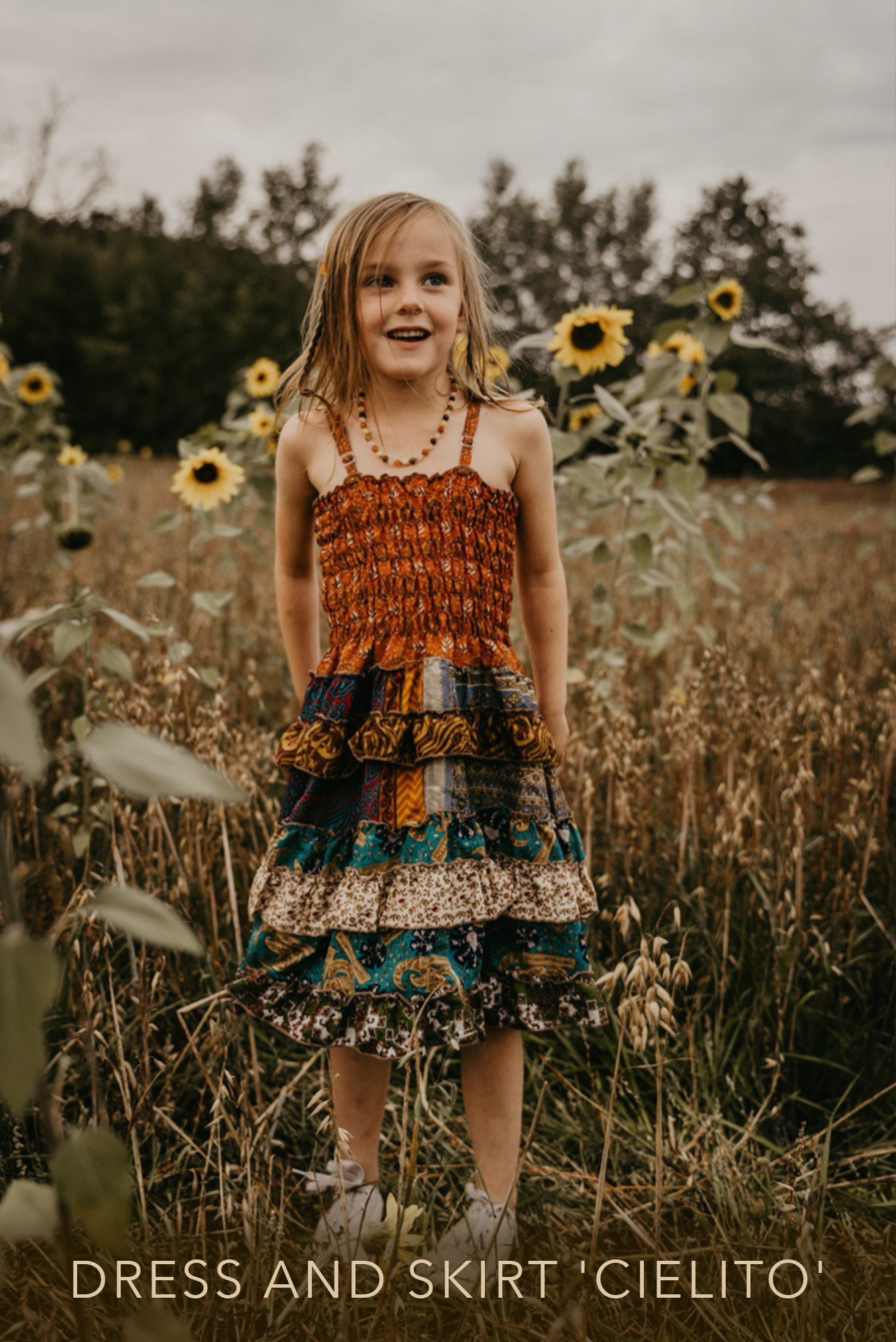 childrens dress skirt cielito mamma nomad