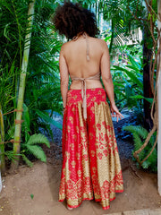Mamma Nomad creates affordable fashion with ethical values and the environment in mind.  Beautiful Boho chic pants made from Eco friendly material