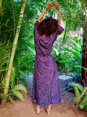 Beautiful Flowing Boho chic Kimono made from recycled fabrics. Mamma Nomad creates Earth friendly yet affordable fashion with ethical values in mind.