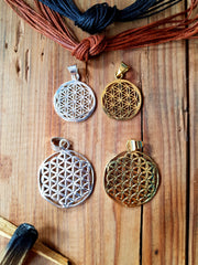 Necklace 'Flower of Life'