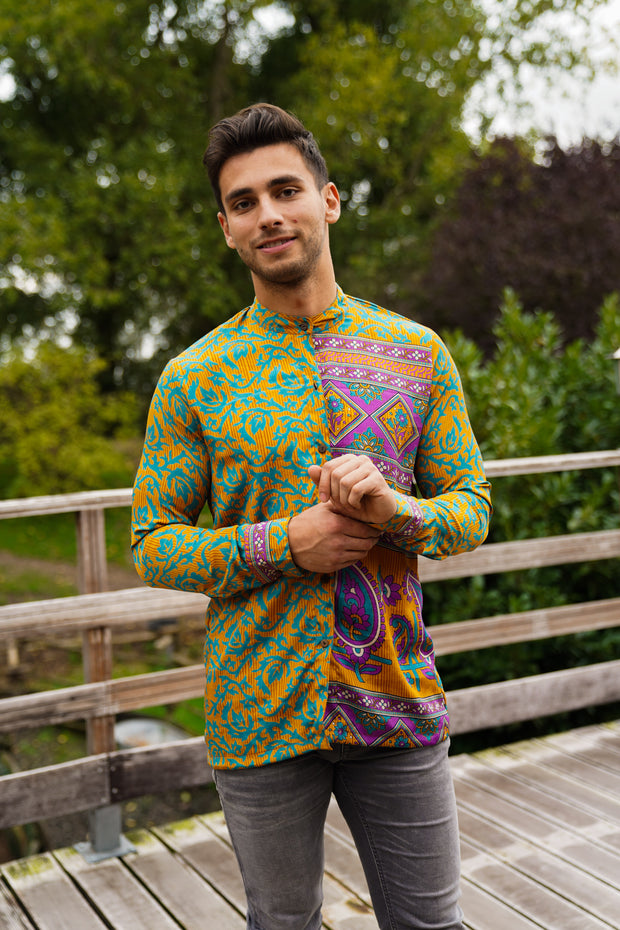 Men's shirt 'Umoja' - Medium