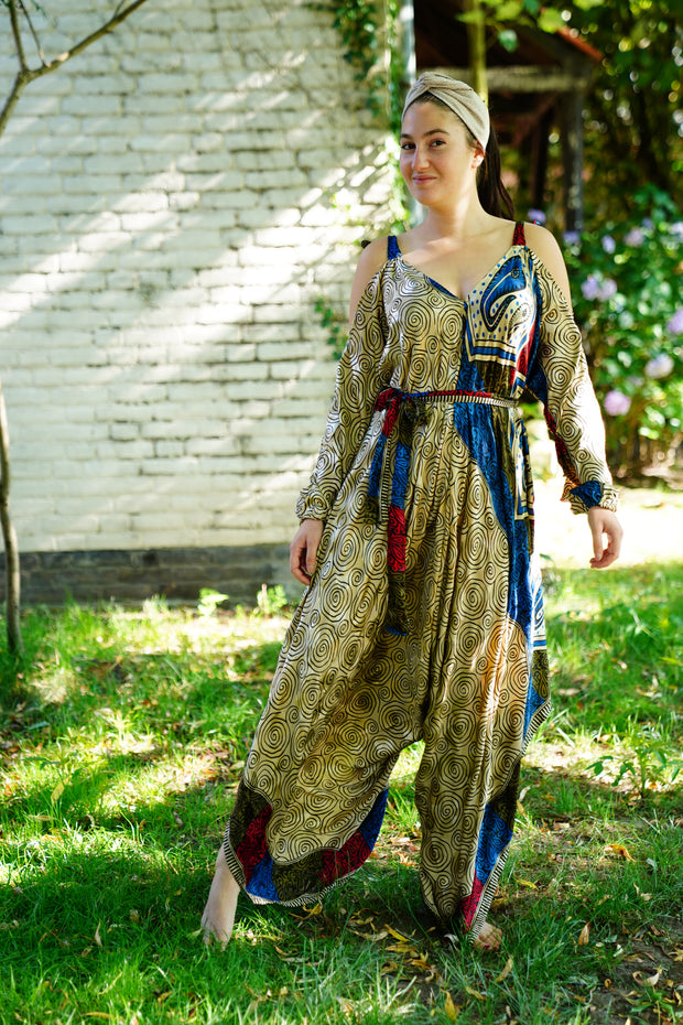 Jumpsuit 'Eunoia' with sleeves (with little imperfections)