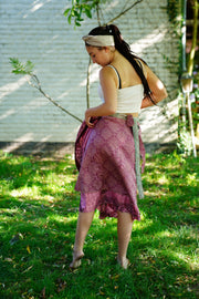 Midi Wrap Around Skirt 'Milleseya'