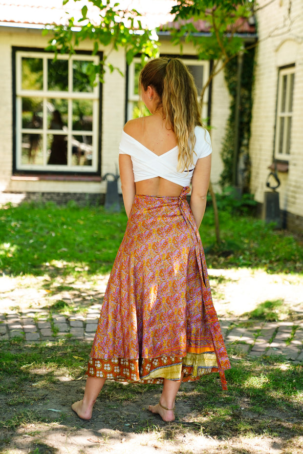 Long Wrap Around Magic Skirt