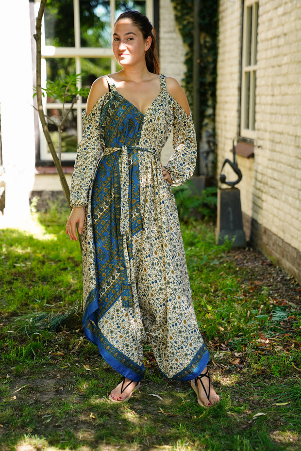 Jumpsuit 'Eunoia' with sleeves