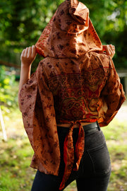 Tie-top 'Alegria' With hood