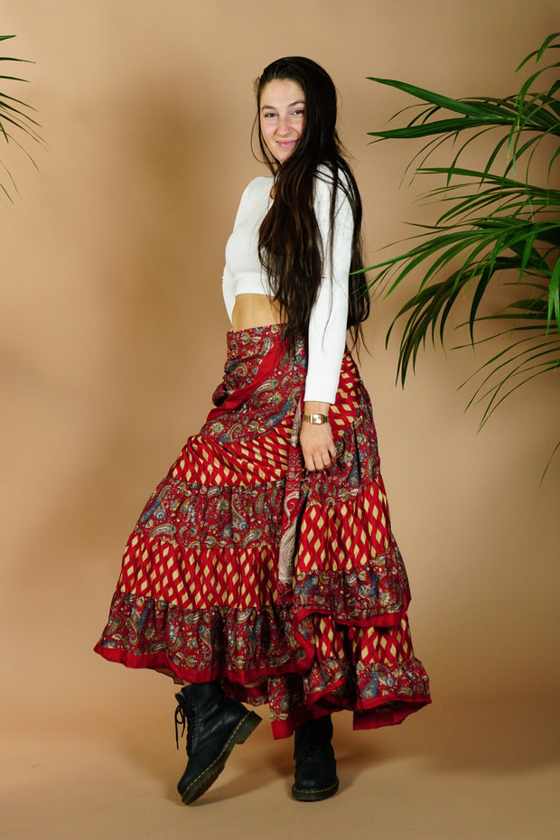 Wrap Around Gypsy Skirt