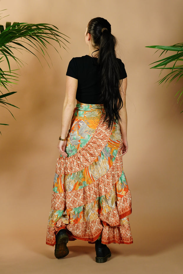 Wrap Around Gypsy Skirt 'Kesali'