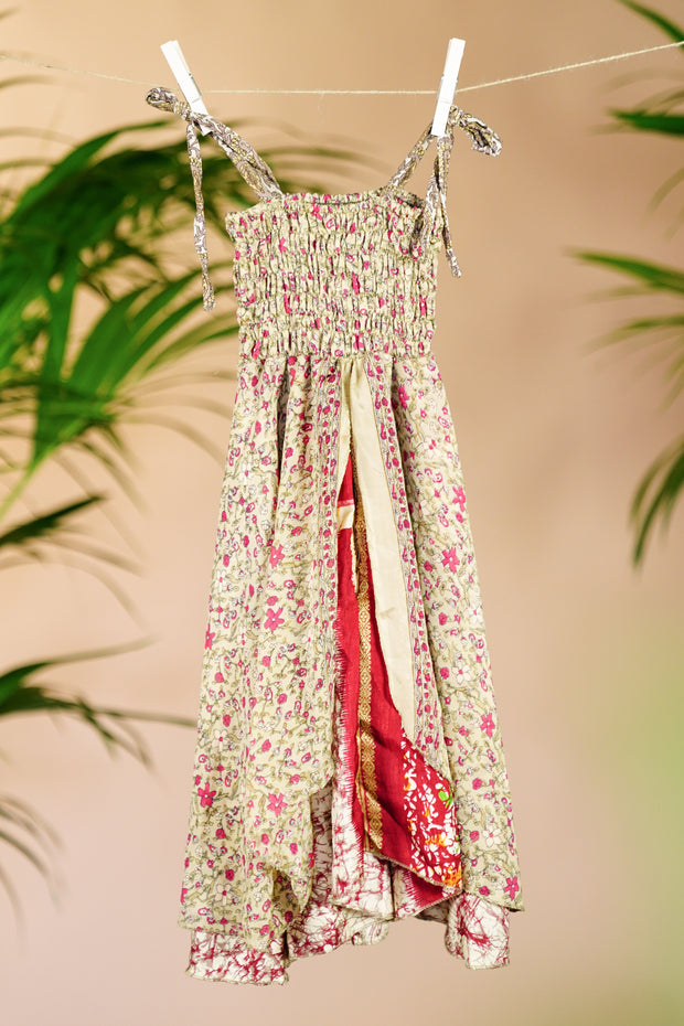 Bohemian Children's Dress 'Arushi' - Age: 2-3