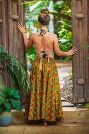 Mama Nomad makes clothing from recycled fabrics. Beautiful Bohemian flowey pants that look like a skirt! We create by ethical & environment friendly values.