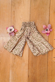 Eco-friendly, Bohemian little pants made from leftover fabrics. Mamma Nomad: Ethical Sustainable yet affordable children's clothes.