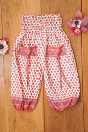 Cute harem pants made from recycled fabrics. Bohemian style for kids.  Mamma Nomad: Environment and Ethical friendly children's fashion for affordable prices.