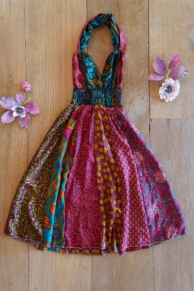 Colorful Bohemian Children's Dress made from Eco friendly Fabrics