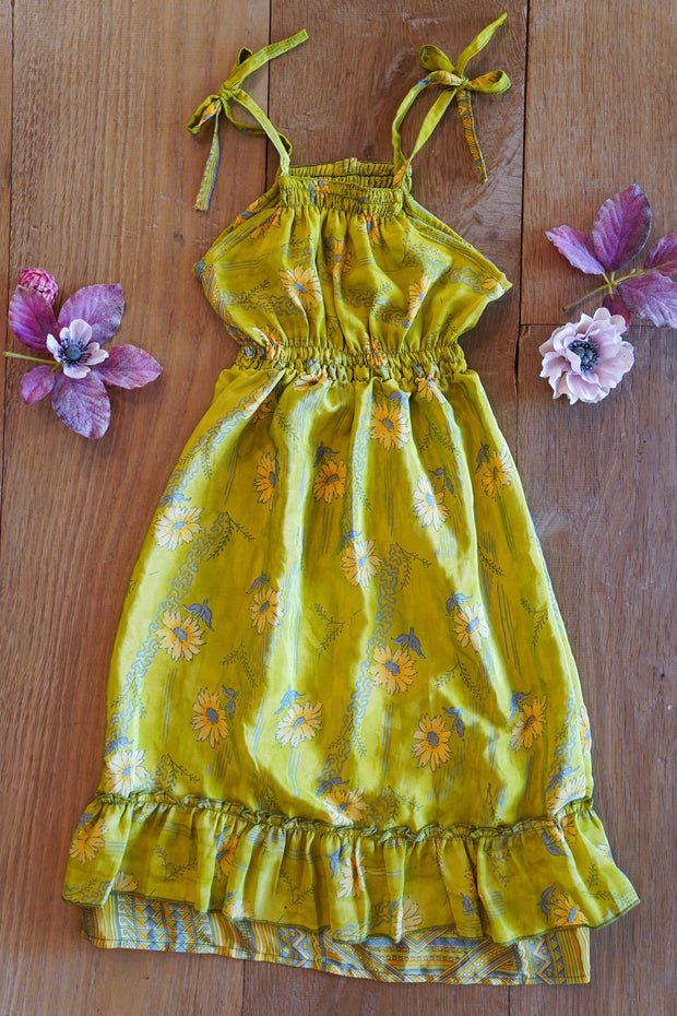 Floral Children's Dress 'Duende' - Age: 2-3