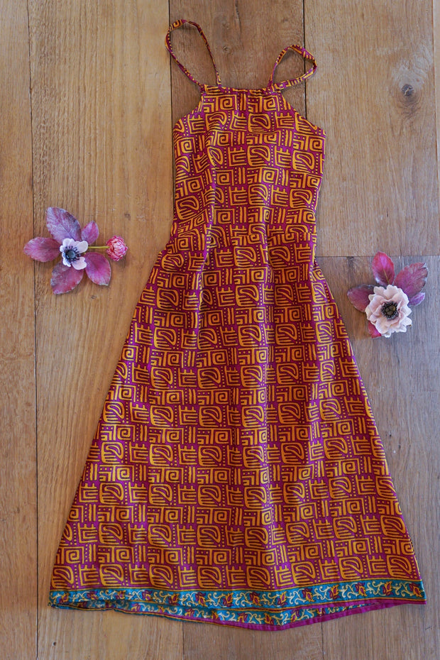 Long Children's Dress 'Eudaimonia' - Age: 3-5