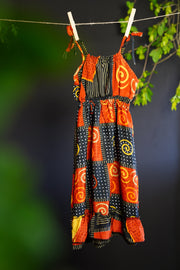 Cute little boho dress for toddlers. Mamma Nomad, sustainable eco-friendly children's clothing.