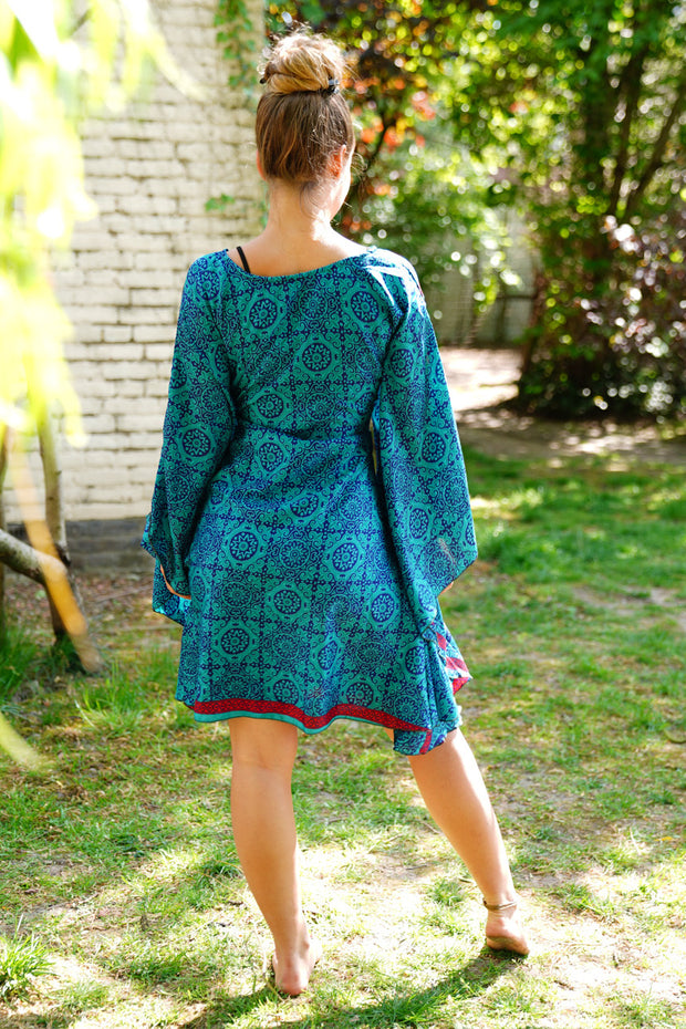 Butterfly Tunic Dress 'Farfalla' Long