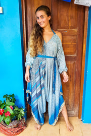 Colorful Jumpsuit made from recycled fabrics for all kinds of beautiful bodies. Plus sized to petite.Mamma Nomad: Bohemian eco-friendly fashion handmade with love.