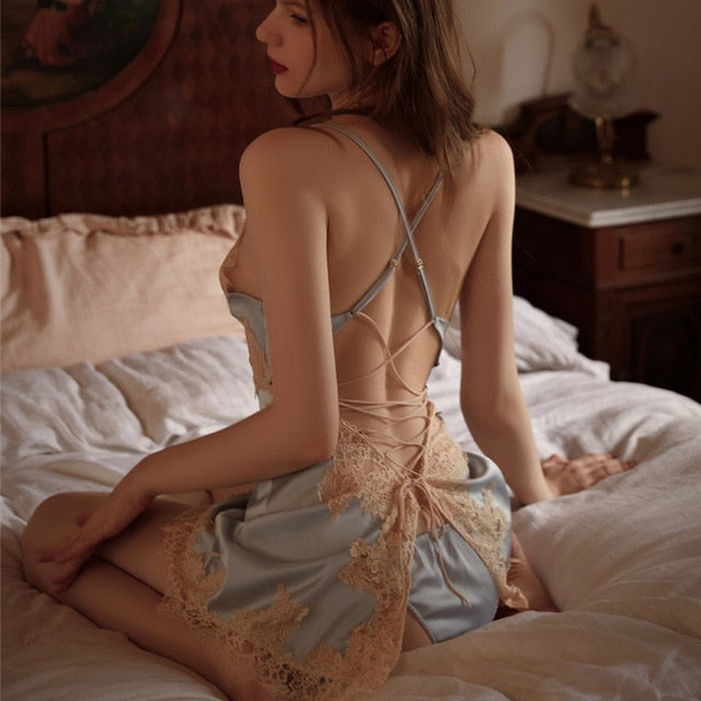 Barbara's Silky Nightdress
