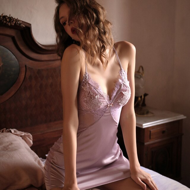 Tracy's Lace Nightdress