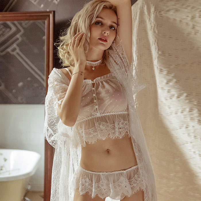 Nerina's Lace Nightgown