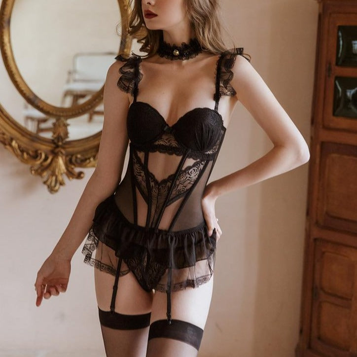 Theresa's Sexy Corset Set