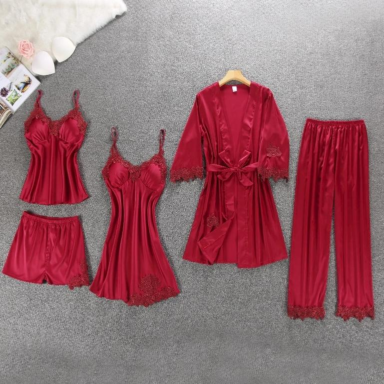 Sophia's Silk Pyjamas Set